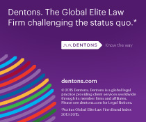 Dentons. The Global Elite Law Firm challenging the status quo.